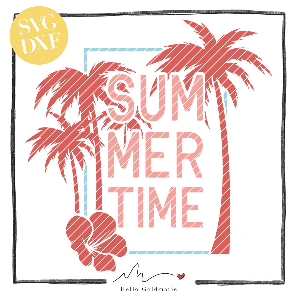 HELLO Goldmarie Plotterdatei - Summer Time